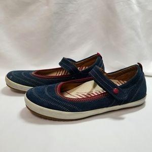 Täōs Liberty Blue Leather Mary Jane Sneeker